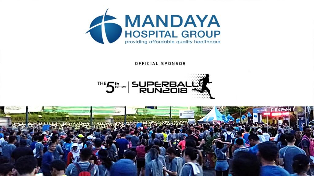 MANDAYA HOSPITAL GROUP DUKUNG ACARA LARI MARATHON SUPERBALL RUN 2018
