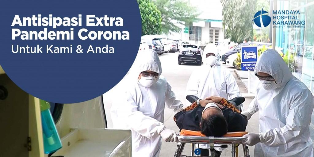 Antisipasi Extra Pandemi Corona Untuk Kami & Anda